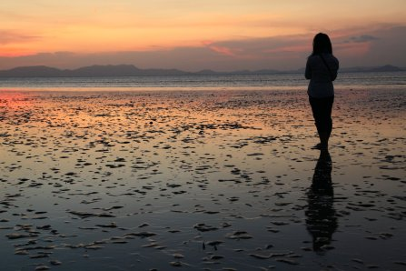 Image result for person on beach